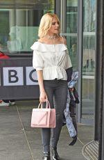 PIXIE LOTT Arroves at BBC Breakfast in London 04/13/2016
