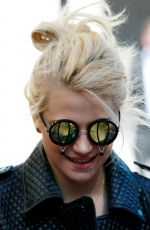 PIXIE LOTT Out and About in London 04/20/2016