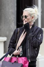 POPPY DELEVINGNE Out Shopping in London 03/23/2016