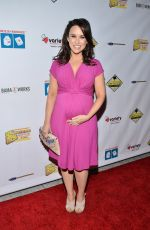 Pregnant LACEY CHABERT at Milk + Bookies 7th Annual Story Time Celebration in Los Angeles 04/17/2016
