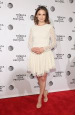 RACHAEL LEIGH COOK at 2016 Tribeca Film Festival Awards in New York 04/21/2016