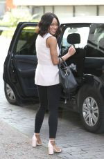 RACHEL ADEDEJI Leaves ITV Studios in London 04/19/2016