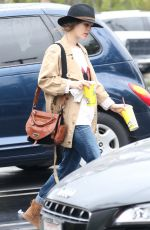 RACHEL BILSON Out Shopping in Los Angeles 04/08/2016