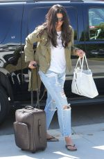 RACHEL ROY Arrives at Her Home in Los Angeles 04/25/2016
