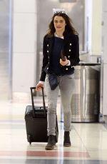 RACHEL WEISZ at JFK Airport in New York 04/21/2016