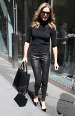 REBECCA ROMIJN at AOL Studios in New York 04/18/2016
