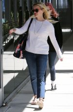 REESE WITHERSPOON and AVA PHILLIPE Out and About in Los Angeles 04/25/2016