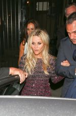 REESE WITHERSPOON Celebrates Her 40th Birthday in Los Angeles 03/19/2016