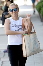 REESE WITHERSPOON Leaves Yoga Class in Brentwood 04/25/2016