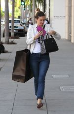 RHEA DURHAM Out Shopping at Gucci Store in Beverly Hills 04/28/2016