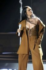 RIHANNA Performs at a Concert in Vancouver 04/23/2016