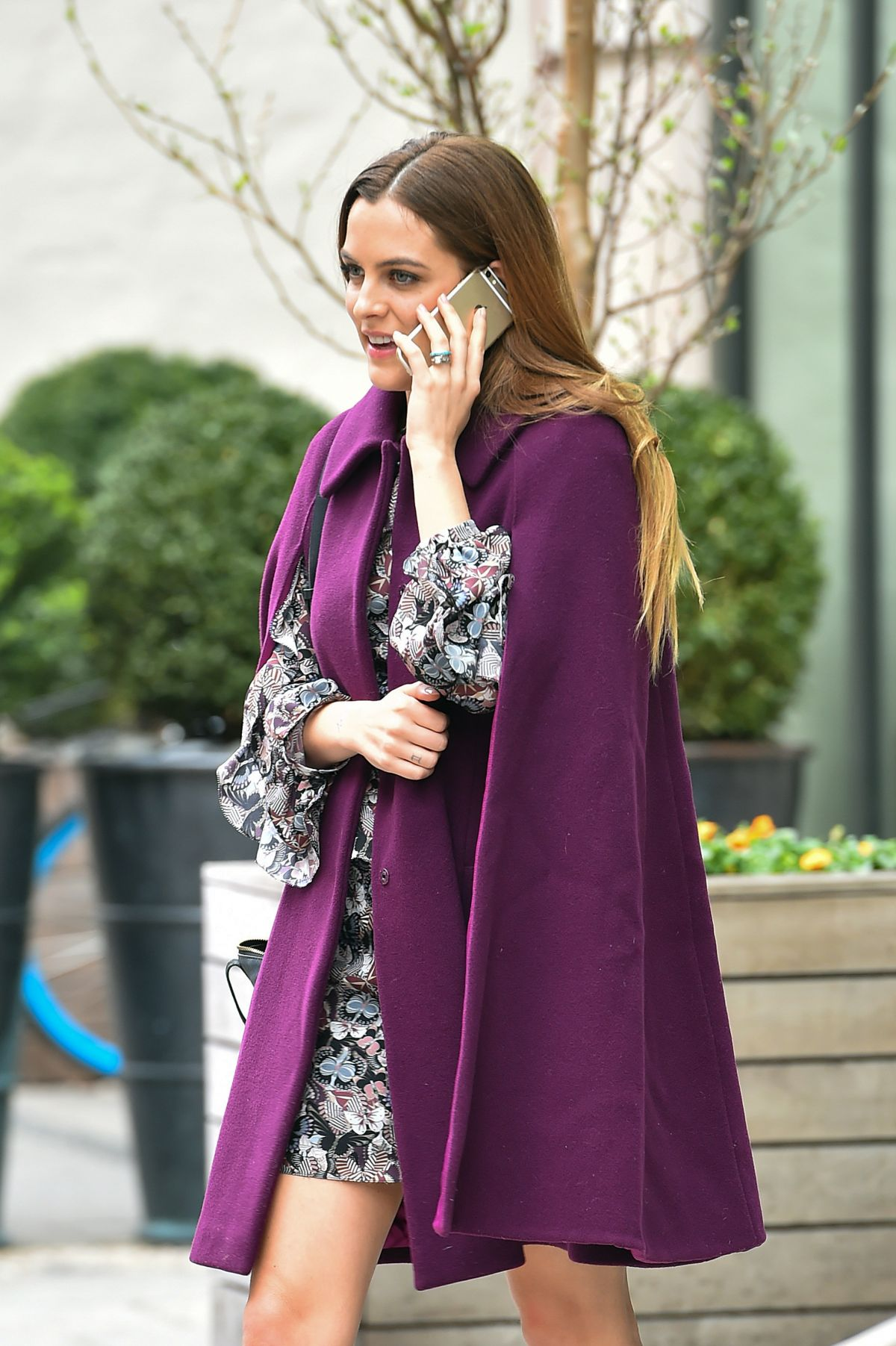RILEY KEOUGH Out in New York 03/31/2016