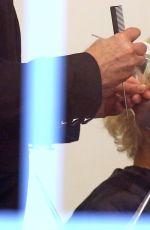 RITA ORA at a Hair Salon in Vancouver 04/13/2016