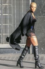 RITA ORA on the Set of a Photoshoot in Los Angeles 04/01/2016