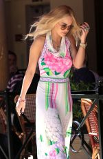 RITA ORA Out and About in Beverly Hills 03/31/2016