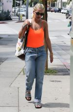 RITA ORA Out and About in West Hollywood 04/05/2016