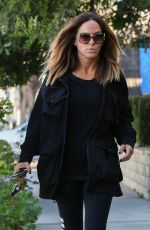 ROBIN ANTIN Arrives at Ken Paves Salon in West Hollywood 03/15/2016