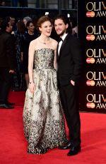 ROSE LESLIE at 2016 Olivier Awards in London 04/03/2016
