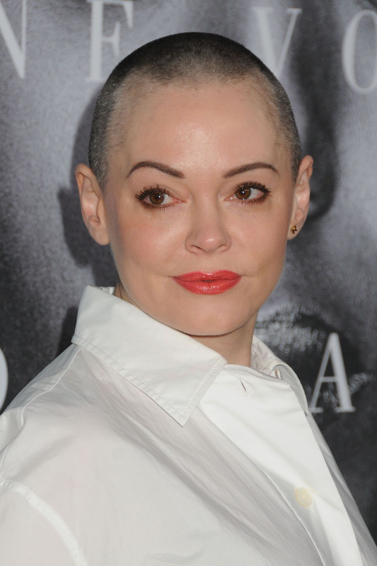 ROSE MCGOWAN at 'Confirmation' Premiere in Hollywood 04/01 ...