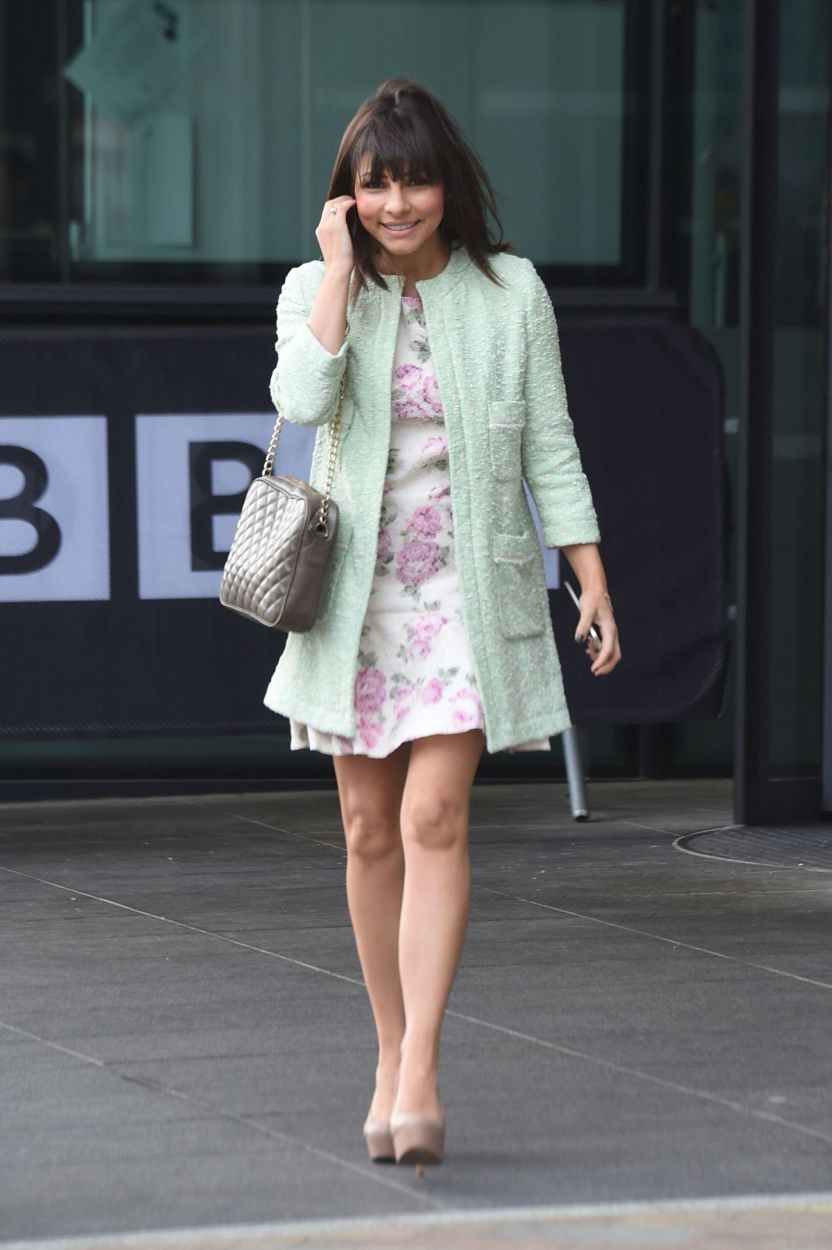 ROXANNE PALLETT Leaves BBC Studios in Salford 04/11/2016