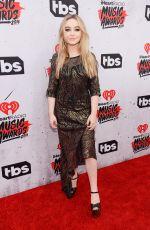 SABRINA CARPENTER at iHeartRadio Music Awards in Los Angeles 04/03/2016