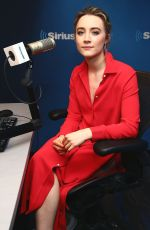 SAOIRSE RONAN at SiriusXM Studios in New York 04/21/2016