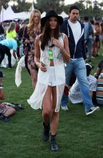 SARA SAMPAIO at Coachella Valley Music and Arts Festival in Indio 04/15/2016