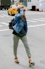 SARAH JESSICA PARKER Out and About in New York 04/27/2016