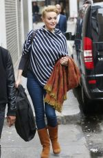 SARAH PARISH Out and About in London 03/26/2016