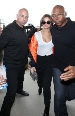 SELENA GOMEZ at LAX Airport in Los Angeles 04/07/2016