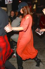 SELENA GOMEZ at Roxy Theatre in West Hollywood 03/31/2016
