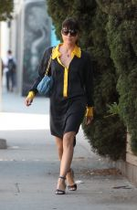 SELMA BLAIR Out Shopping in West Hollywood 04/05/2016
