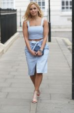SHANIE RYAN at Boux Avenue Summer Pool Party in London 04/27/2016