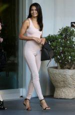 SHANINA SHAIK Leaves Her Hotel in Los Angeles 04/12/2016