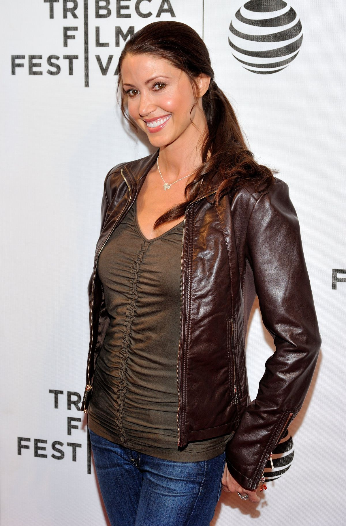 SHANNON Elizabeth at Ttribeca Talks at John Zuccotti Theater in New York 04/22/2016