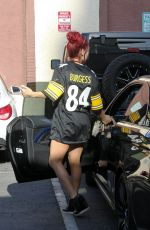 SHARNA BURGESS at DWTS Rehersal in Hollywood 04/27/2016