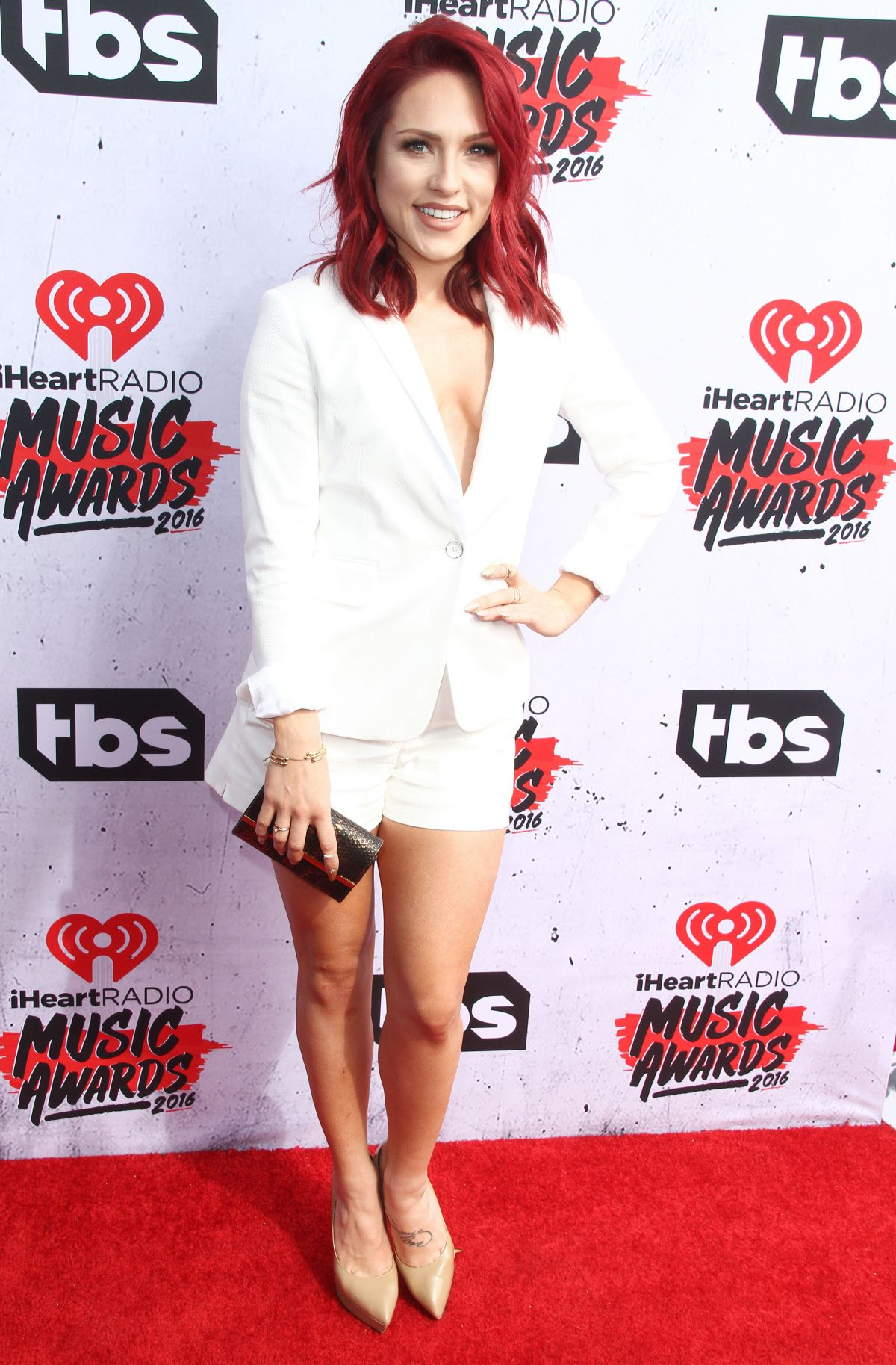 SHARNA BURGESS at iHeartRadio Music Awards in Los Angeles 04/03/2016