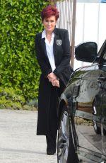 SHARON OSBOURNE Leaves a Salon in West Hollywood 03/21/2016