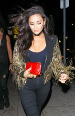 SHAY MITCHELL at Nice Guy Club in West Hollywood 04/15/2016