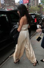 SHAY MITCHELL Leaves Her Hotel in New York 04/25/2016