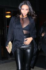 SHAY MITCHELL Night Out in New York 04/23/2016