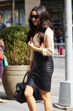 SHAY MITCHELL Out and About in New York 04/25/2216