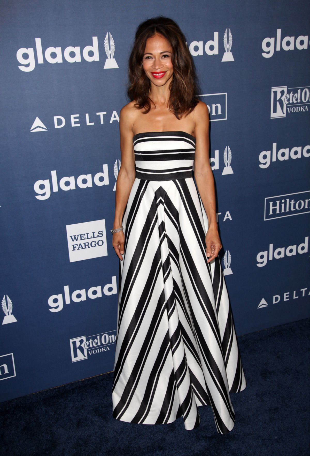 SHERRI SAUM at 2016 Glaad Media Awards in Beverly Hills 04/02/2016