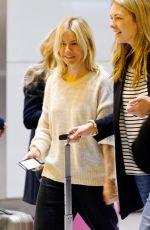 SIENNA MILLER at Heathrow Airport in London 04/22/2016