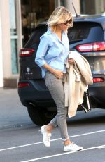 SIENNA MILLER Out and About in New York 04/19/2016