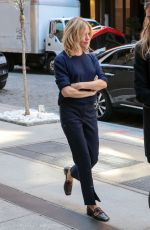 SIENNA MILLER Out and About in New York 04/20/2016