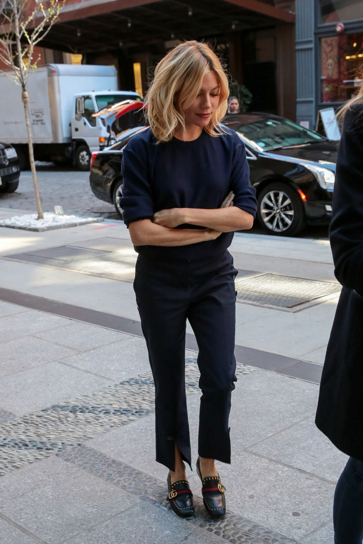 Sienna Miller Out And About In New York 04 20 2016