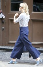 SIENNA MILLER Out in New York 04/21/2016