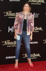 SOFIA REYES at 'The Jungle Book' Premiere in Hollywood 04/04/2016