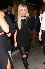 SOFIA RICHIE at Nice Guy in West Hollywood 04/10/2016